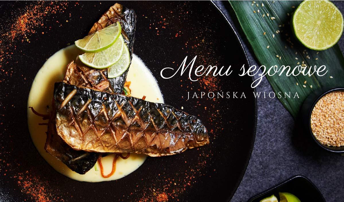 Menu wiosenne – Spring menu