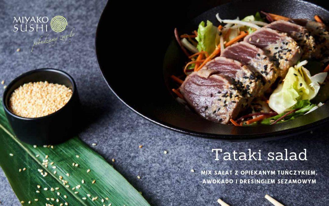 Japońska sałatka Tataki