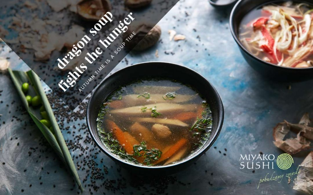 Dragon soup fights the hunger