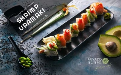 Shrimp Uramaki Sushi ?