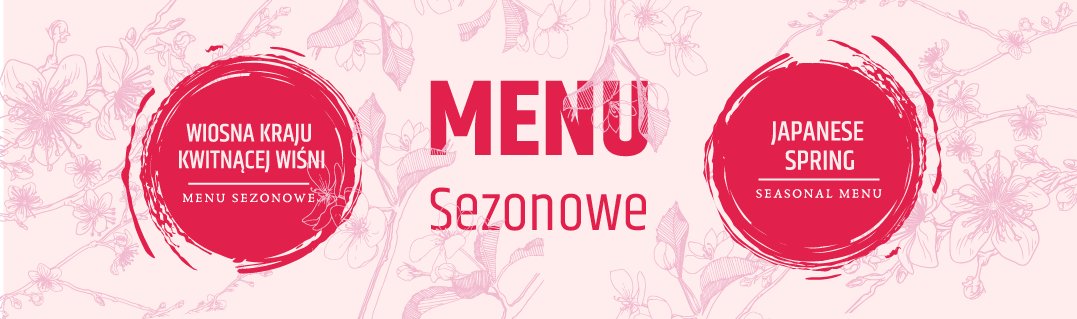 Miyako Sushi Kraków Menu Sezonowe