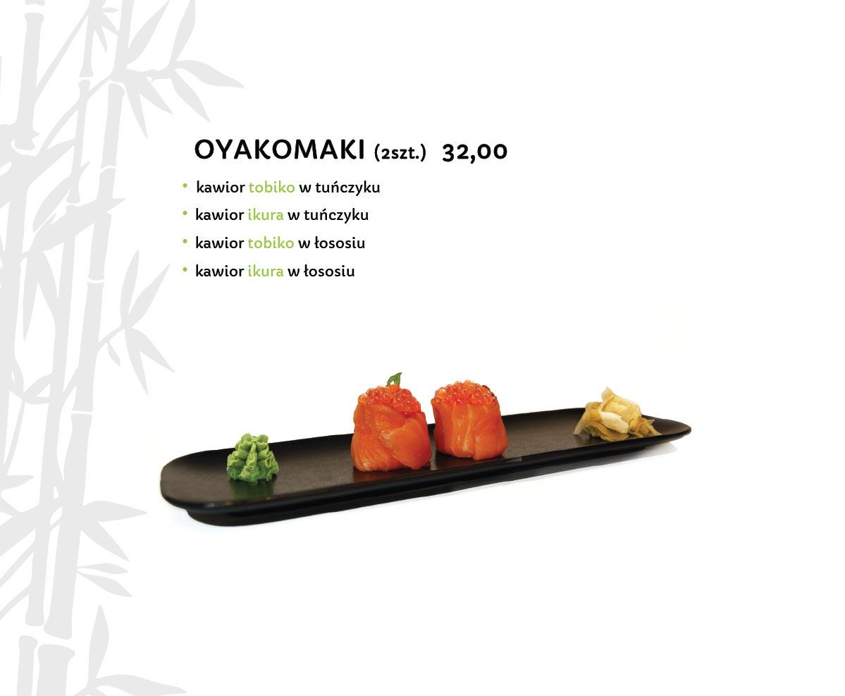 Oyakomaki Sushi Restauracja japońska Miyako Sushi Kraków